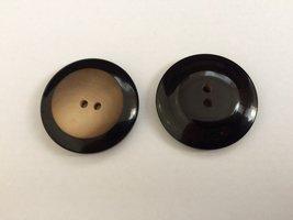 zwarte  knoop  38 mm