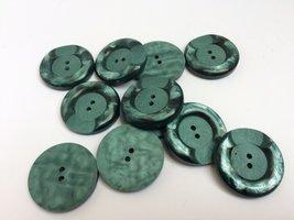 groene knopen 28 mm