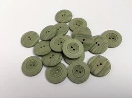 groene knopen 23 mm