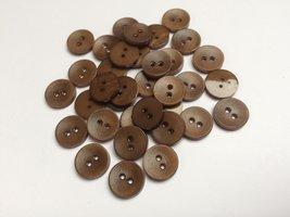 bruine knopen 14 mm