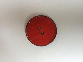 kokos knoop rood  40 mm