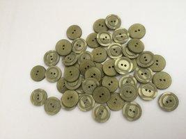 groene  knopen 15 mm