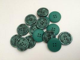 groen  knopen 22 mm