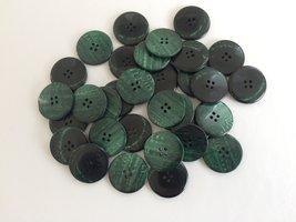groene knopen 27 mm