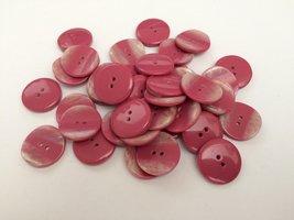 roze knopen 19 mm
