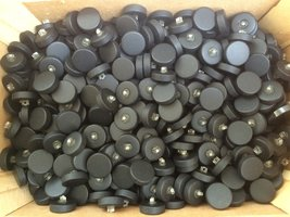 zwarte knopen 23 mm