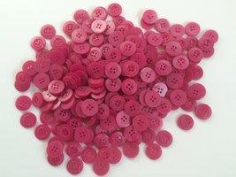 roze/fuchsia knopen 15 mm