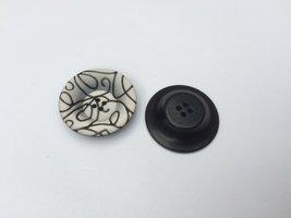 witte knoop  33 mm