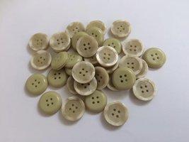 groene knopen 17  mm