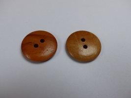 houten knoop  23 mm