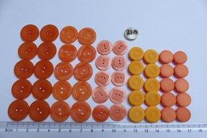 set 210  oranje