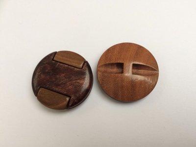 houtlook  knoop  29 mm