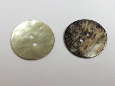 parelmoer knoop  22 mm