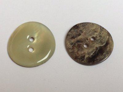 parelmoer knoop 25 mm