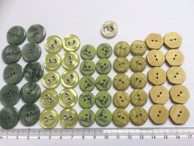 groene knopen
